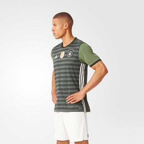 Adidas Jersey Away Germany   16/18 Grey / Base Green Tifoshop