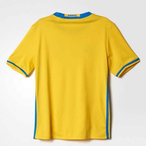 Adidas Jersey Home Sweden Junior  16/18 Yellow/Bright Royal Tifoshop