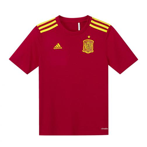 Adidas Stadium Jersey Home Spain Junior  16/18 RED