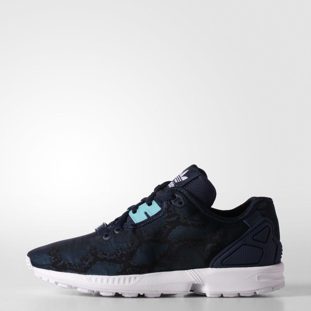 5f9049ec6 Adidas Originals Shoes Zx Flux Decon Woman Night Indigo   Light Aqua -  Tifoshop.com