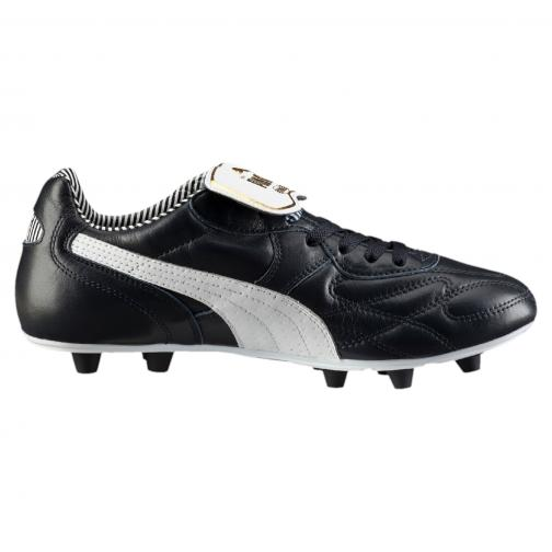 Puma Chaussures De Football King Top Stripe Di Fg new navy-white-puma gold Tifoshop