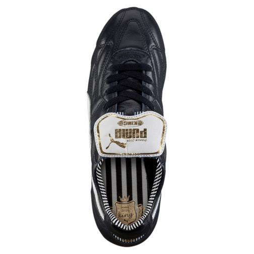 Puma Football Shoes King Top Stripe Di Fg new navy-white-puma gold Tifoshop