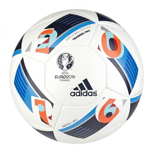 Adidas Ball Euro16 Training Pro white/bright blue/night indigo