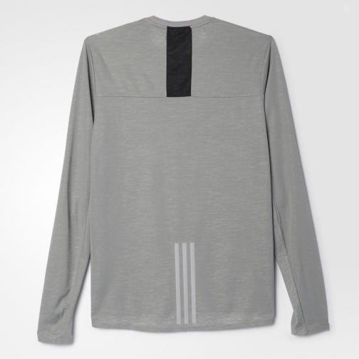 Adidas T-shirt Supernova Solid Grey Tifoshop