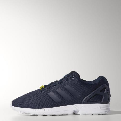 Adidas Originals Schuhe Zx Flux Dark Blue / Core White