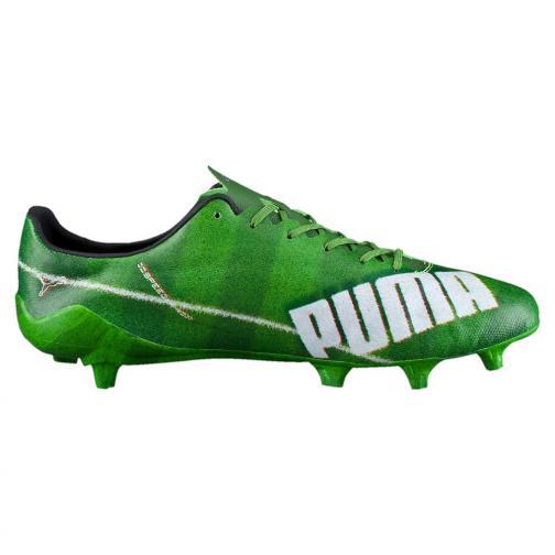 Puma Scarpe Calcio Evospeed Sl Grass Fg Verde Bianco Tifoshop