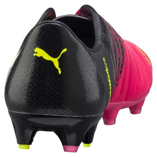 Evopower 1.3 Tricks Fg pink glo-safety yellow-black FIGC Store