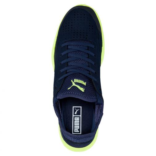 Puma Schuhe Ignite Sock peacoat-safety yellow Tifoshop