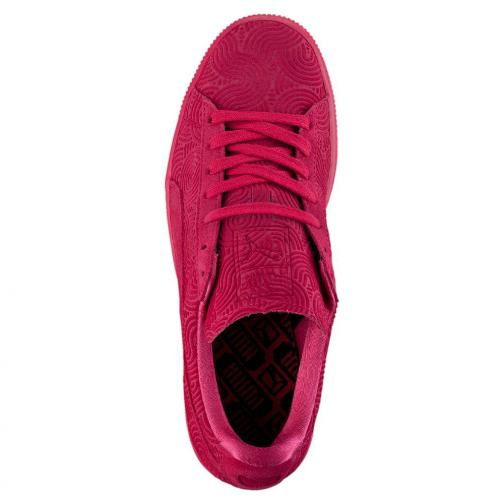 Puma Chaussures Suede Classic + Colored Wn's  Femmes rose red-rose red Tifoshop