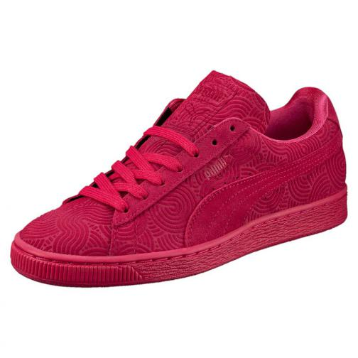 Puma Chaussures Suede Classic + Colored Wn's  Femmes rose red-rose red
