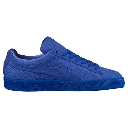 Puma Scarpe Suede Classic + Colored Wn's  Donna Blu Tifoshop