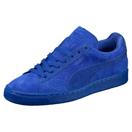 Puma Scarpe Suede Classic + Colored Wn's  Donna Blu