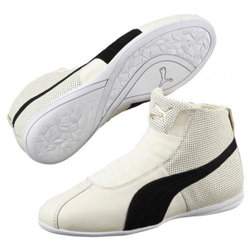 Puma Shoes Eskiva Mid Wn's  Woman whisper white-black Tifoshop