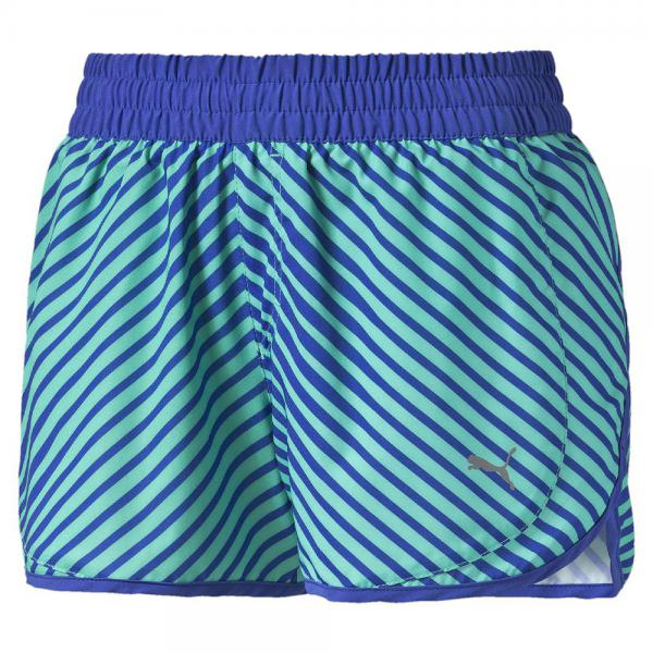 Puma Short Blast 3'' Short W  Femmes mint leaf-dazzling blue