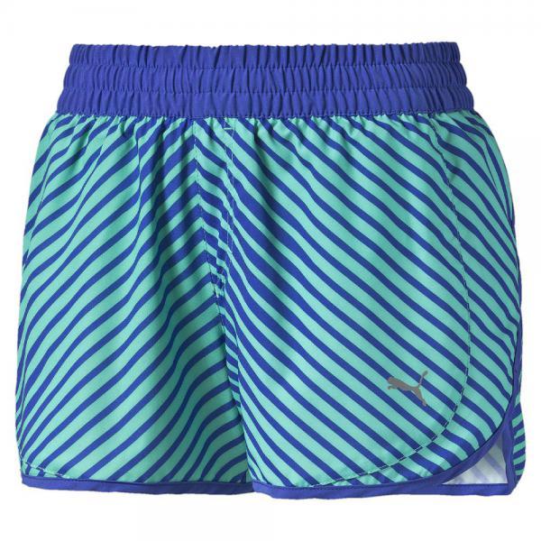 Puma Short Pants Blast 3'' Short W  Woman mint leaf-dazzling blue