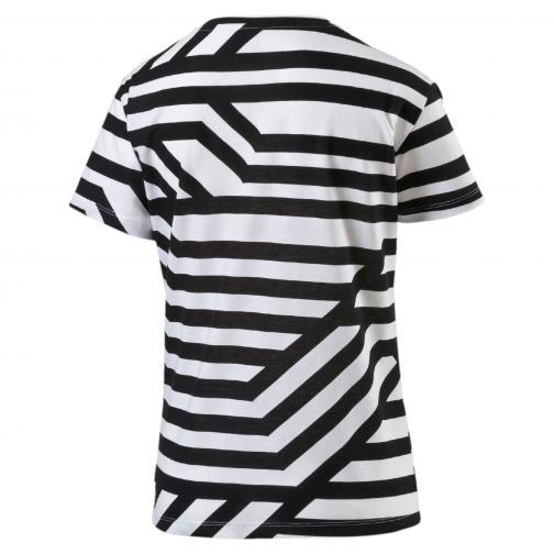 Puma T-shirt Aop Tee  Donna Bianco Tifoshop