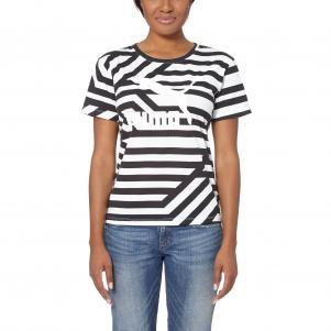 Puma T-shirt Aop Tee  Damenmode