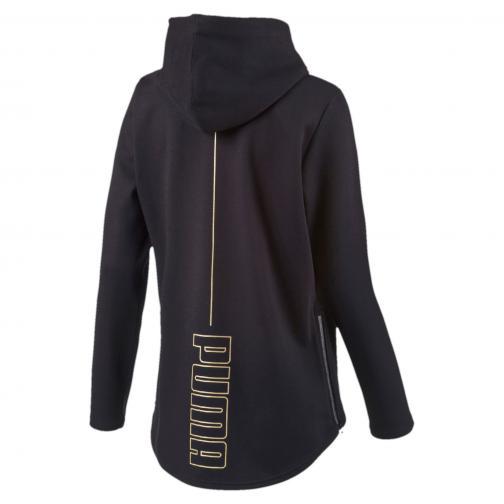 Puma Sweatshirt Puma Print Hoody  Damenmode black Tifoshop