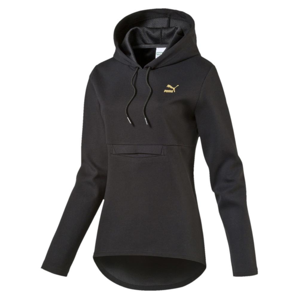 Puma Sweatshirt Puma Print Hoody  Damenmode