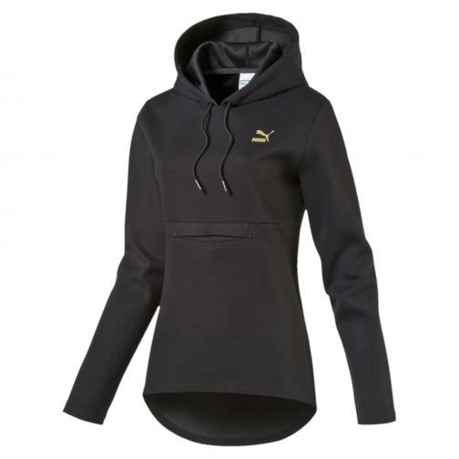 Puma Sweatshirt Puma Print Hoody  Damenmode black