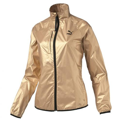 Puma Veste Gold Windrunner  Femmes pale gold Tifoshop
