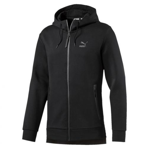 Puma Sweat Evo Fullzip Hoody black Tifoshop