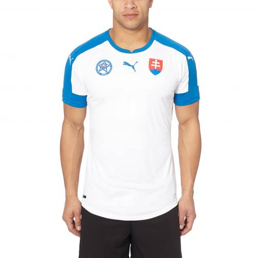 Puma Jersey  Slovakia   16/18 white-puma royal-HOME Tifoshop