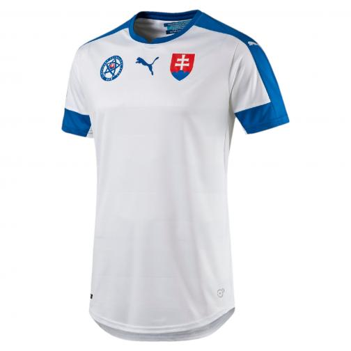 Puma Maillot De Match  Slovakia   16/18 white-puma royal-HOME