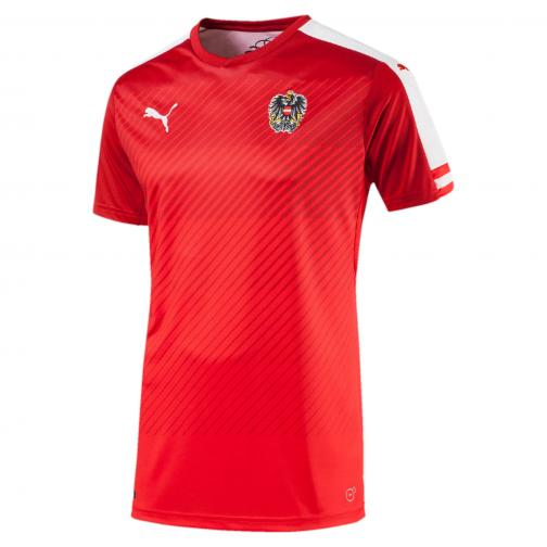 Puma Shirt  Austria   16/18 puma red-white