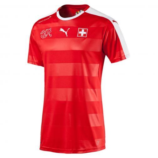 Puma Maillot De Match  Switzerland   16/18 puma red-white