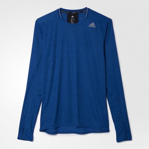 Adidas T-shirt Supernova Blu Tifoshop