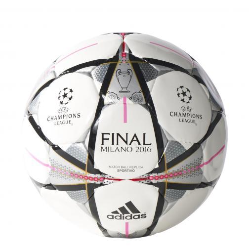 Adidas Pallone Finale Milano Sportivo Bianco Nero