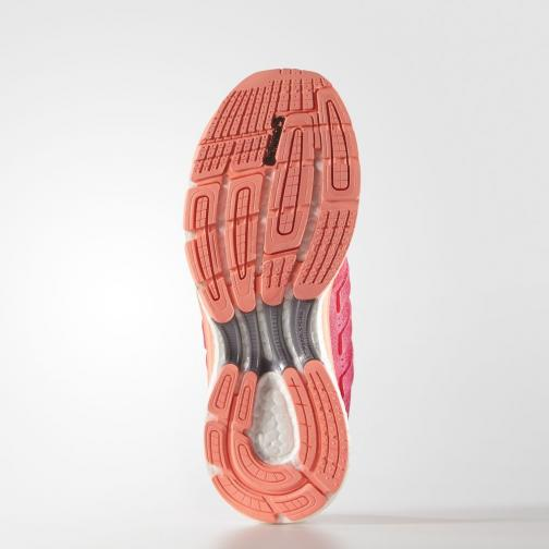 Adidas Shoes Supernova Glide 8  Woman Shock Red /Sun Glow Tifoshop