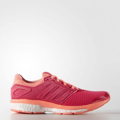 Adidas Shoes Supernova Glide 8  Woman Shock Red /Sun Glow