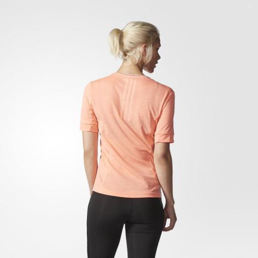 Adidas T-shirt Supernova  Woman Sun Glow Tifoshop