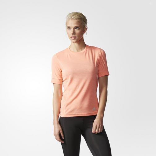 Adidas T-shirt Supernova  Woman Sun Glow