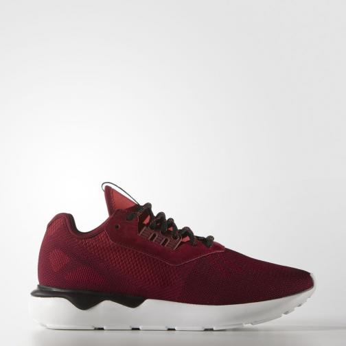 Adidas Originals Scarpe Tubular Runner Weave Bordeaux