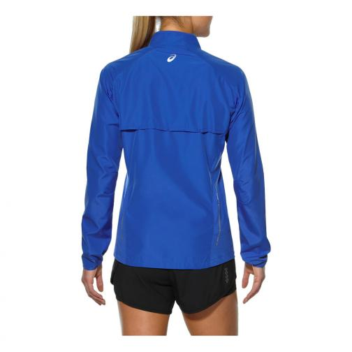 Asics Veste Woven Jacket  Femmes BLUE PURPLE Tifoshop
