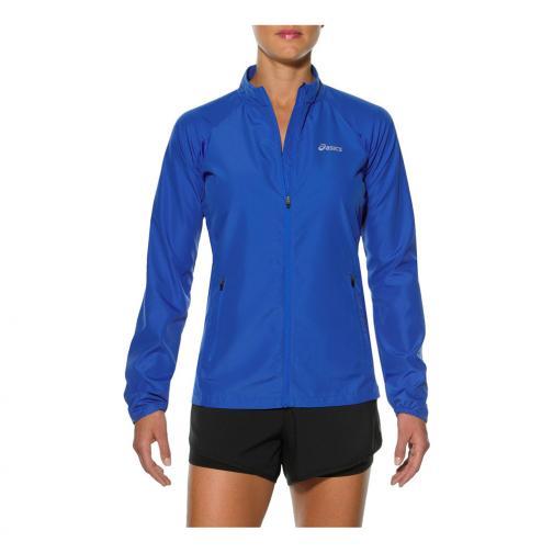 Asics Jacket Woven Jacket  Woman BLUE PURPLE