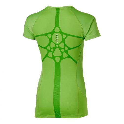 Asics T-shirt Elite Ss Top  Donna Verde Tifoshop