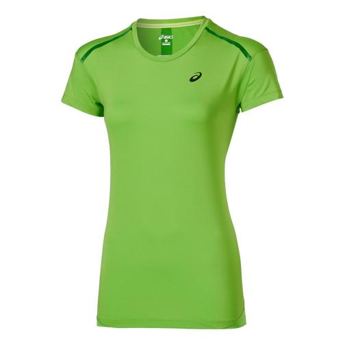 Asics T-shirt Elite Ss Top  Donna Verde