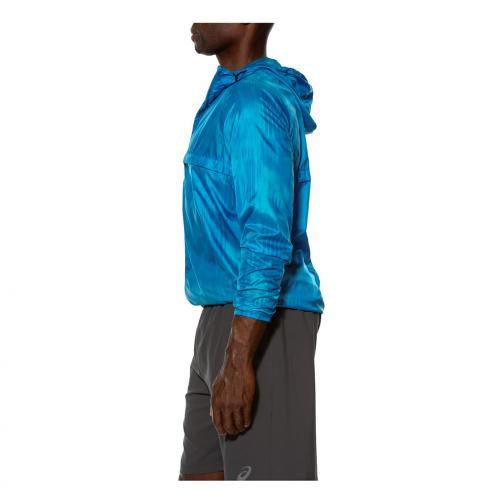 Asics Jacket Fuzex packable Jacket MEDITERAN FUSION PRINT Tifoshop