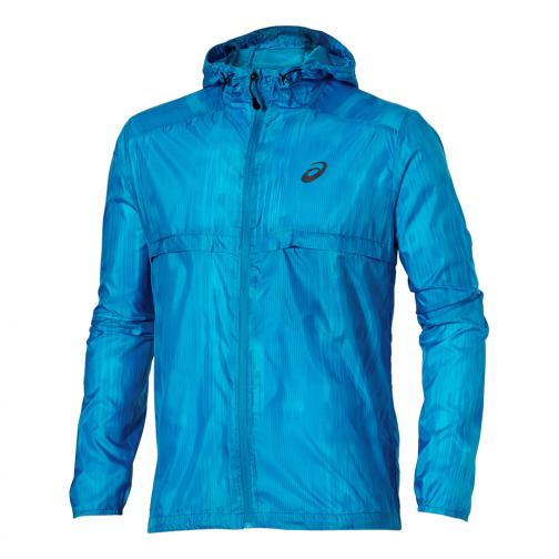 Asics Jacket Fuzex packable Jacket MEDITERAN FUSION PRINT