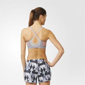 Adidas Top Supernova Bra Melange  Woman