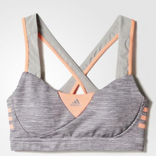 Adidas Top Supernova Bra Melange  Femmes Ch Solid Grey/Sun Glow Tifoshop