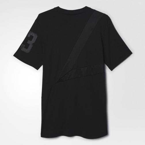 Adidas Originals T-shirt Tee Bball Black Tifoshop