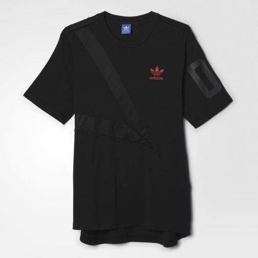 Adidas Originals T-shirt Tee Bball Nero