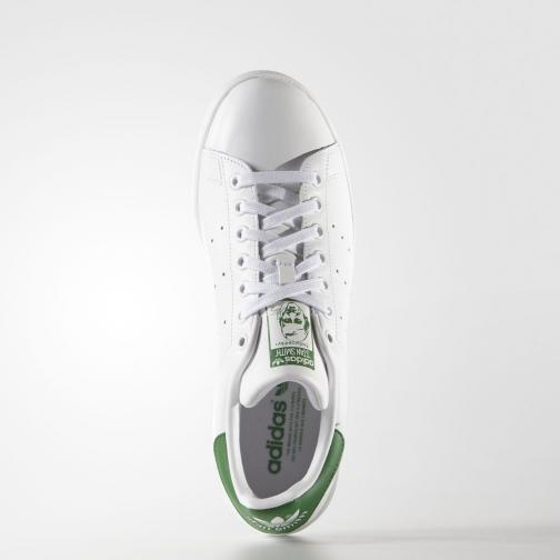 Adidas Originals Scarpe Stan Smith  Unisex Bianco Verde Tifoshop