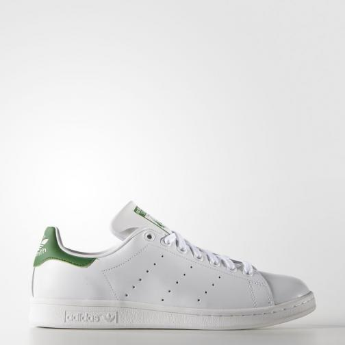 Adidas Originals Scarpe Stan Smith  Unisex Bianco Verde