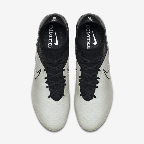 Nike Chaussures De Football Magista Obra Leather Fg LIGHT BONE-BLK Tifoshop